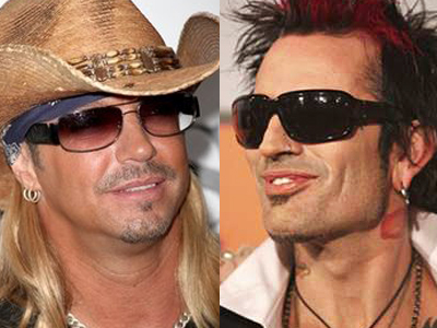 Bret Michaels and Tommy Lee