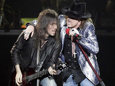 Bumblefoot and Axl Rose