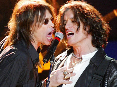 Steven Tyler and Joe Perry