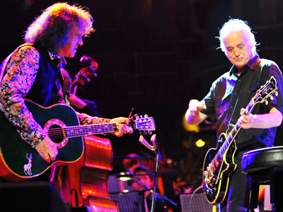 Donovan and Jimmy Page
