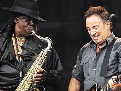 Clemons and Springsteen