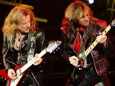 KK Downing and Glenn Tipton