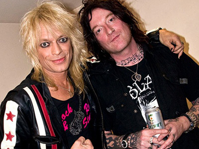 Michael Monroe and GInger