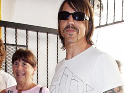 Anthony Kiedis and mum Peggy