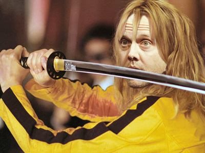Lars Ulrich in Kill Bill