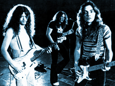Glenn Hughes, David Coverdale and Tommy Bolin
