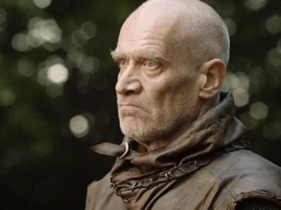 Wilko Johnson as Ilyn Payne in Game of Thrones