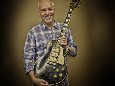 Peter Frampton and his lost guitar